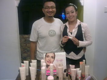 With Mary Kay Product