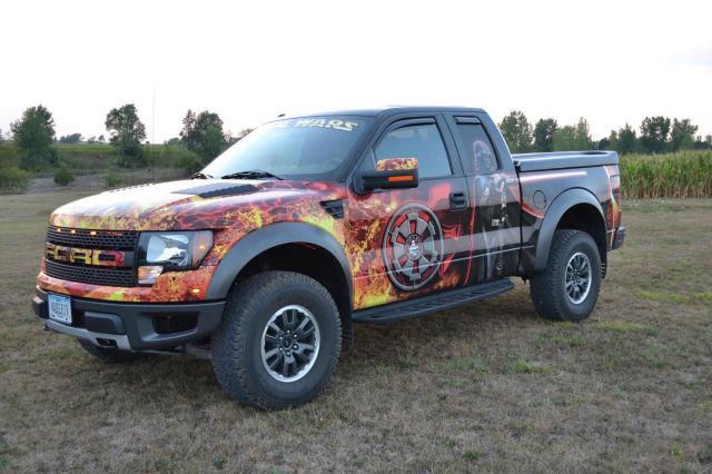 Fan Wraps Ford Truck In Star Wars Graphics