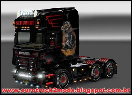 Euro truck 2 Mods - Scania R Skin