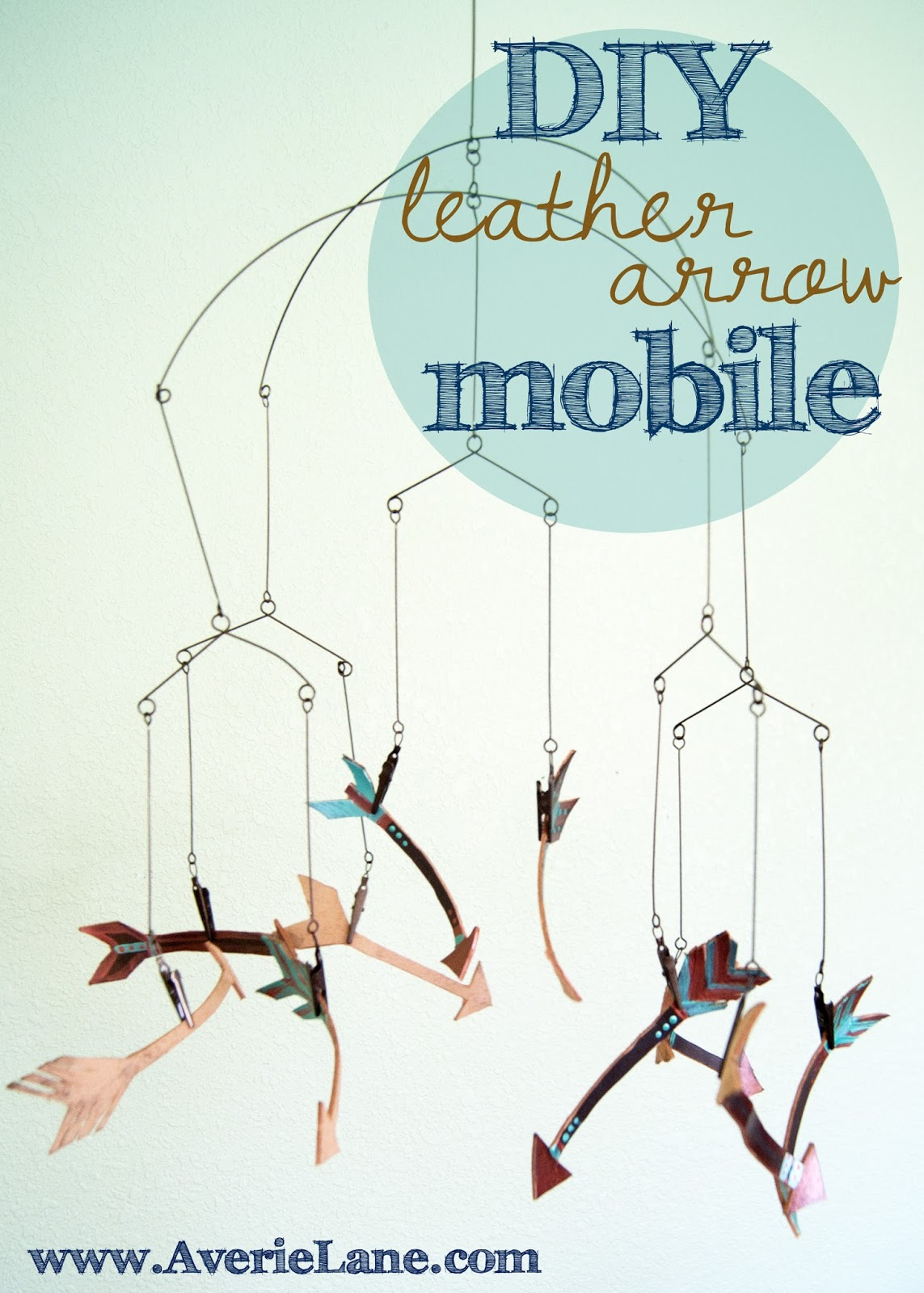 DIY Leather Mobile Title Image