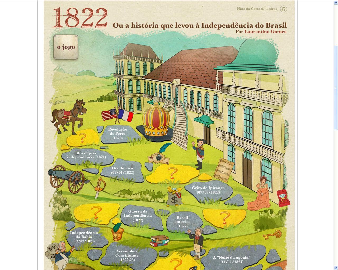 JOGO - 1822 O caminho da Independência do Brasil