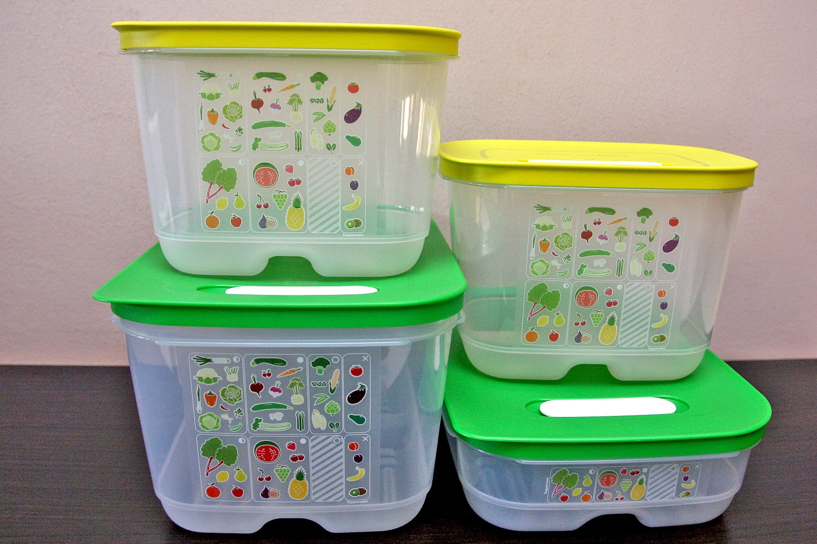 Tupperware VentSmart Fridge Storage Containers NanoNature Water