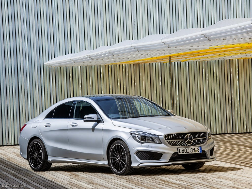 2014 Mercedes Benz CLA Wallpaper