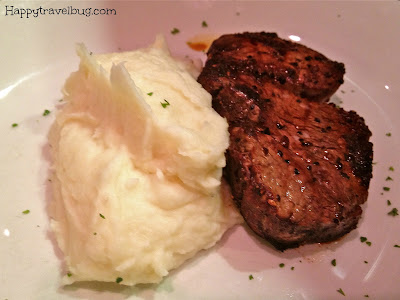 filet mignon and mashed potatoes