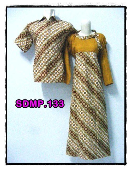 ... Batik Muslimah Sdmp 133 Busana Muslim Trend Batik Pasangan Muslimah
