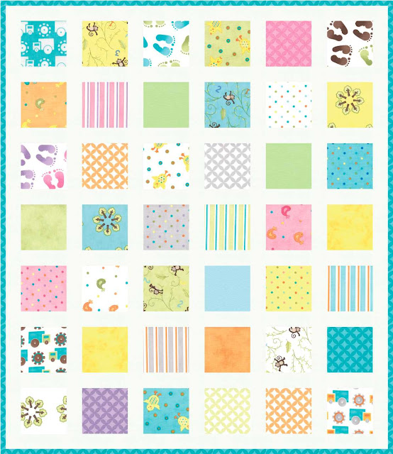 Fabric Mill: Grow With Me Charm Quilt