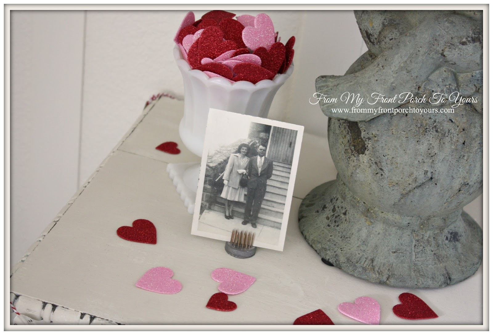 From My Front Porch To Yours- Valentines Day Vignette