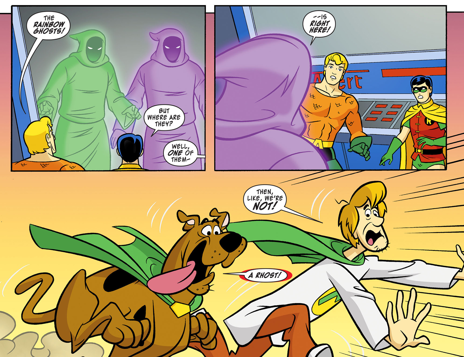 Read online Scooby-Doo! Team-Up comic -  Issue #11 - 12