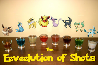 SHOTS eeveelution