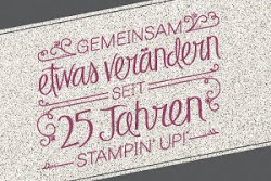 25 Jahre Stampin` Up!
