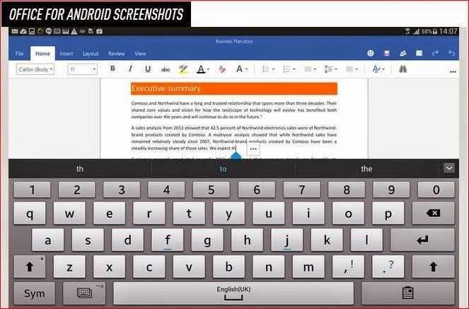 Microsoft Office Untuk Iphone, Android Dan Tablet