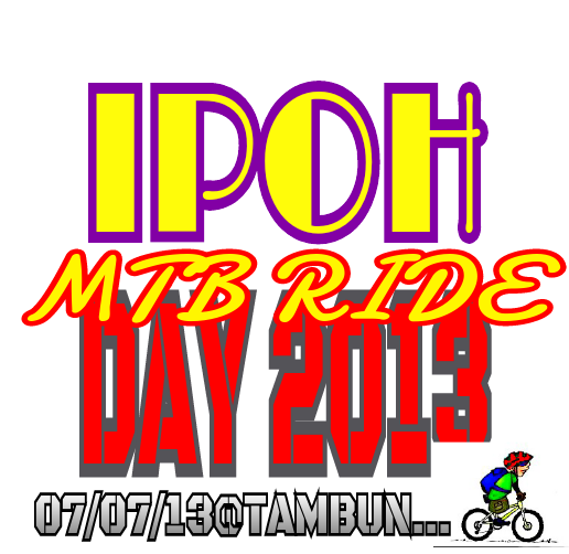 IPOH MTB RIDE DAY 2013