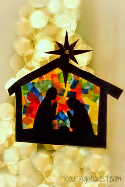 Nativity Craft For Kids by No Time for Flash Cards