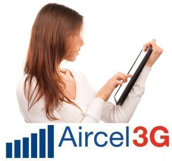 Aircel 3G tariff plans in india