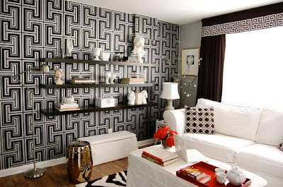 Decorating with Greek Key Pattern