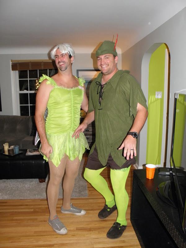 Peter pan men in tights