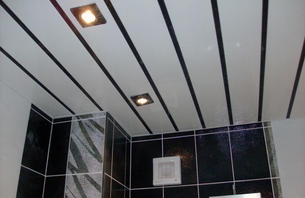 Фото пластиковых потолков