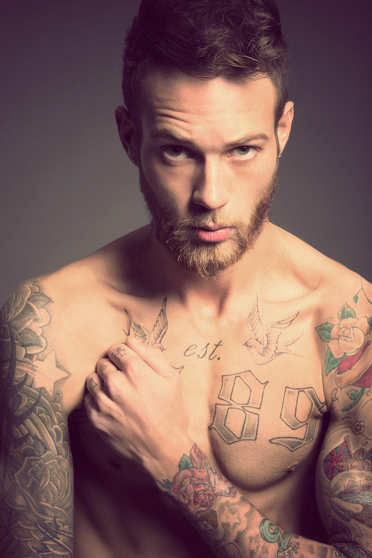 Morphosis billy huxley by maciek for Red beard tattoo