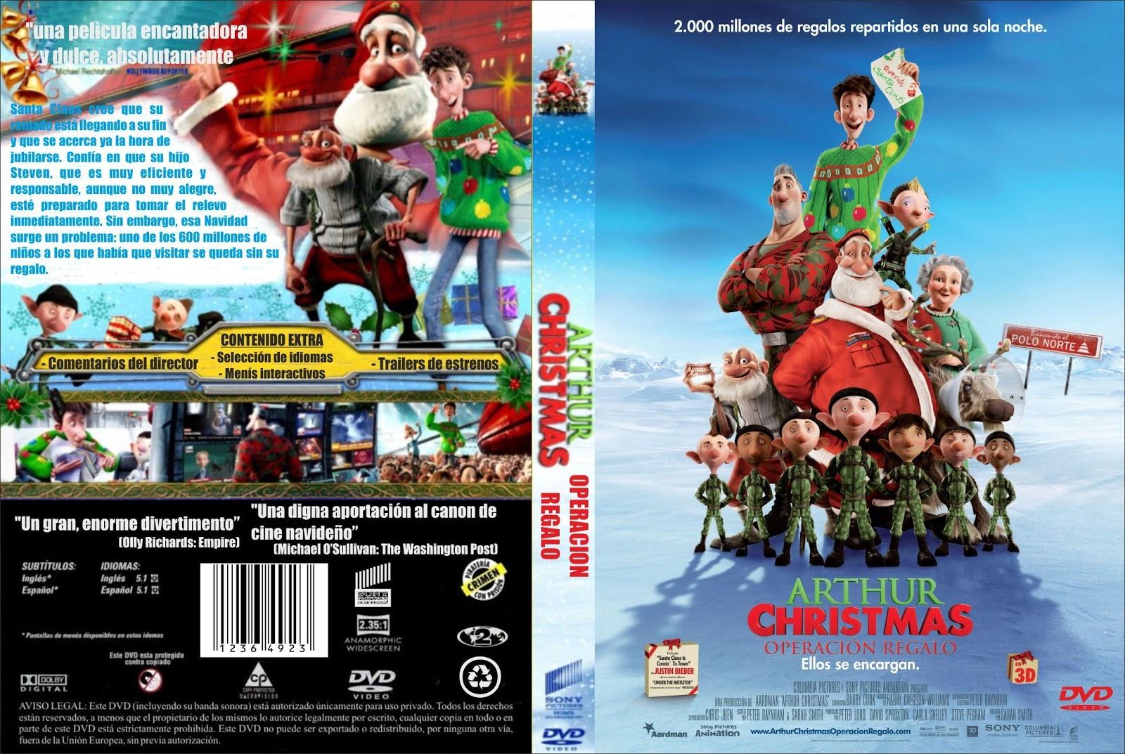 operacion regalo arthur christmas - Arthur Christmas Dvd