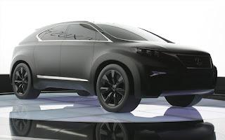 Automobile Trends  lexus lf xh concept