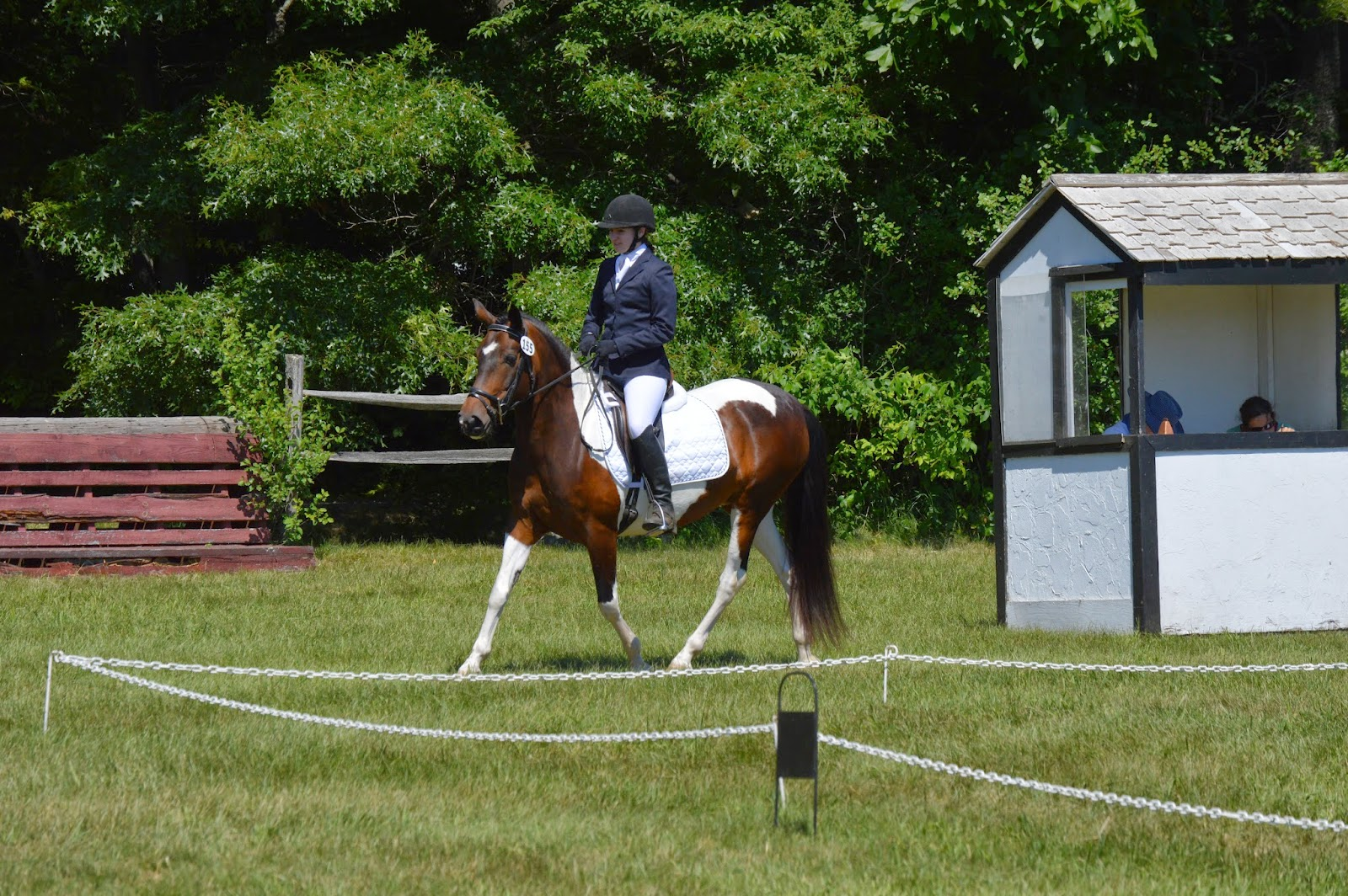 Groton House Farm Summer Classic dressage schooling June 2014