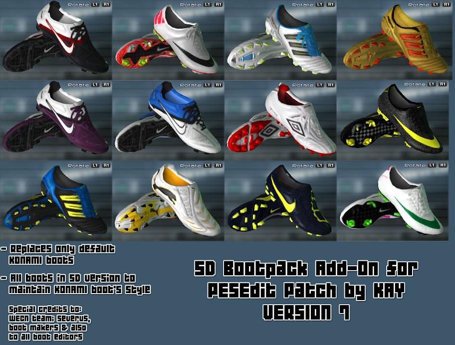 Bootpack Addon for PESEdit Patch 3.5 by KAY