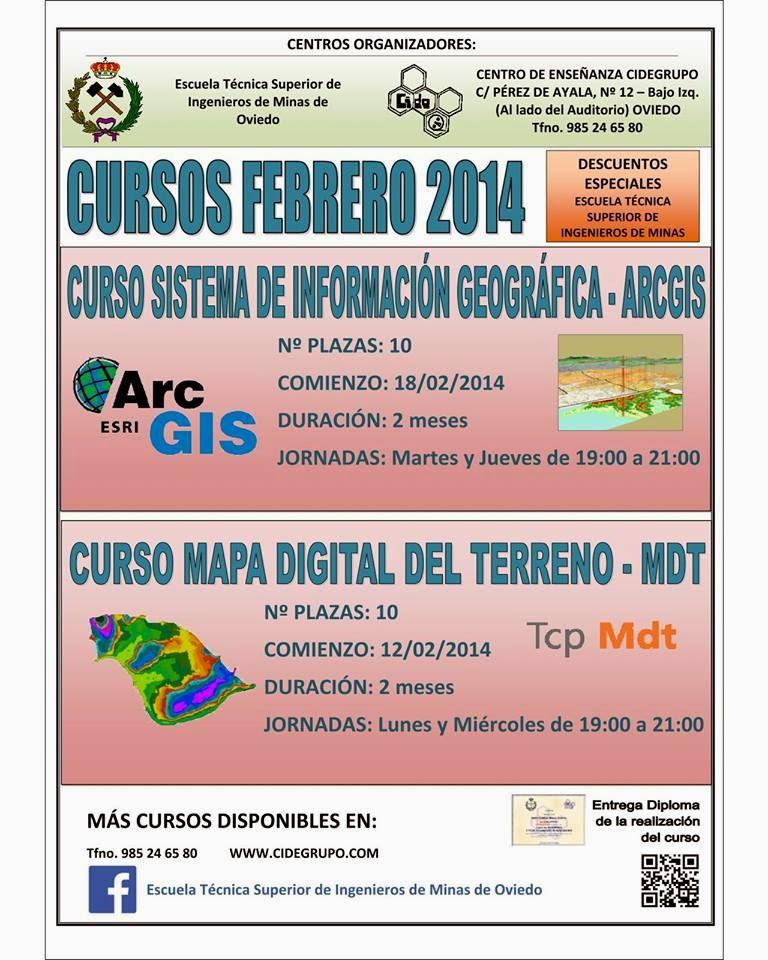 Cursos en Oviedo