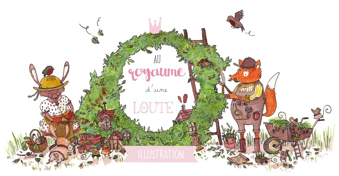 Au royaume d'une Loute - Illustration