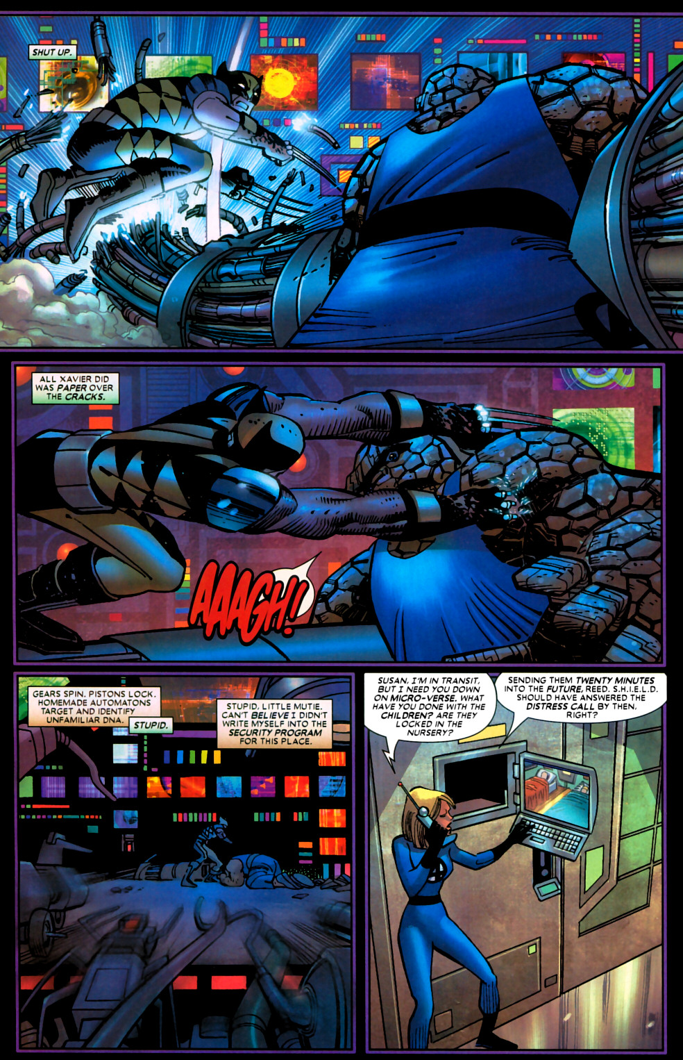 Read online Wolverine (2003) comic -  Issue #22 - 14