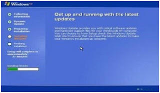 Proses Install Windows XP