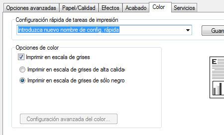 Como configurar mi impresora para borrador rápido | es.Rellenado