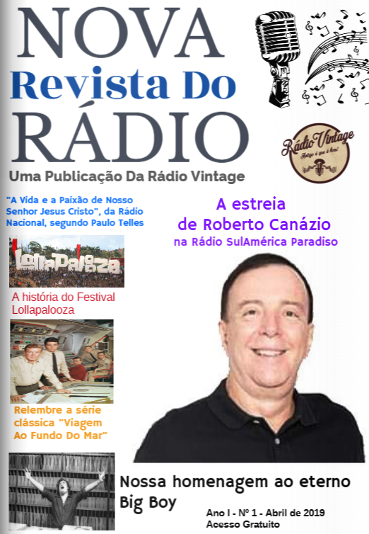 NOVA REVISTA DO RÁDIO - ABRIL 2019- Nº 1