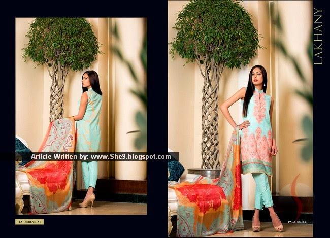 Jacqueline Fernandez and Pakistani Designer Lawn Magazine