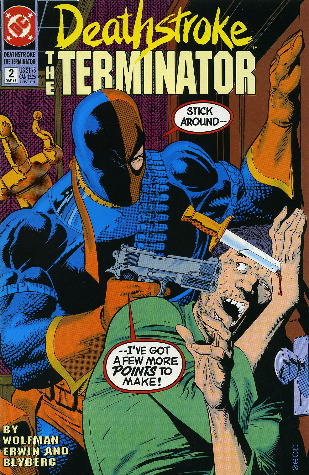 Deathstroke (1991) Issue #2 #7 - English 1