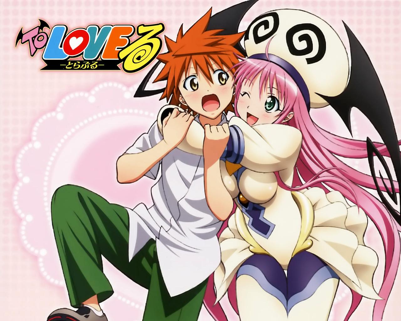 [7 Animes Indispensáveis] - Comédia To%2Blove%2Bru