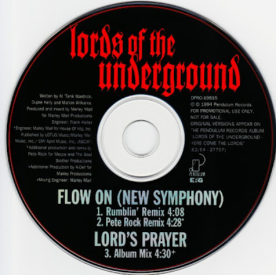 Lords Of The Underground – Flow On (New Symphony) (Promo CDS) (1994) (320 kbps)