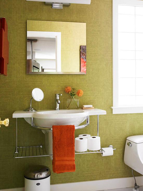 Mistura Do Lar Banheiros Pequenos E Bonitos