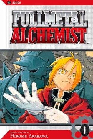 Manga Fullmetal Alchemist cover