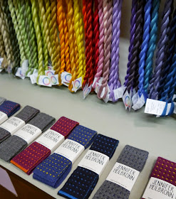 Dundee, craft shop, grand opening, sewing, crafting, DIY, supplies, haberdashery, The Haberdashery Project, new store, knitted ties, Jennifer Heilbronn, gifts for men