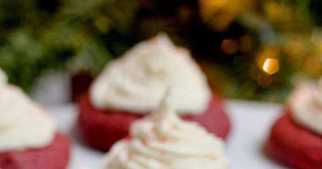 Savor Home: COOKIE SWAP: RED VELVET COOKIES W/ WHITE ...