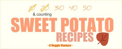 Tired of the same-old same-old sweet potatoes? Find new inspiration in this collection of seasonal Sweet Potato Recipes @ AVeggieVenture.com, savory to sweet, every-day to special-occasion, simple to complex, summer to winter. Many Weight Watchers, vegan, gluten-free, low-carb, paleo, whole30 recipes.
