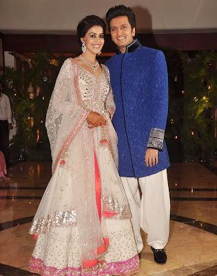 Actress Genelia and Riteish wedding news