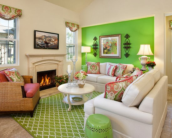 Warna Desain Interior Rumah minimalis