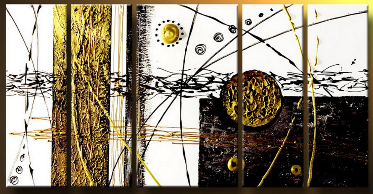 Pinturas cuadros lienzos cuadros abstractos modernos for Cuadros horizontales modernos