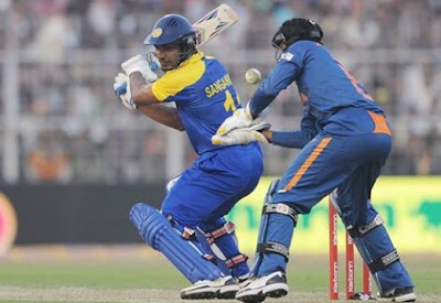 Sangakara Playing in Final