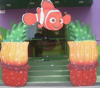 Children parties, Nemo decorations