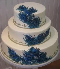 Perfect Peacock Wedding Cake Designs