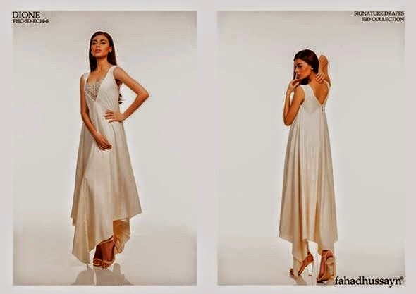 Signature Drapes Eid Collection 2014 by Fahad Hussayn