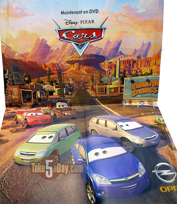 poster opel pixar cars