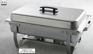 Chafing Dish Combustibil, Modele de Vase Incalzitoare Mnacare, Profesionale Horeca, Ieftine, Preturi, Bufet, Otel Inoxidabil